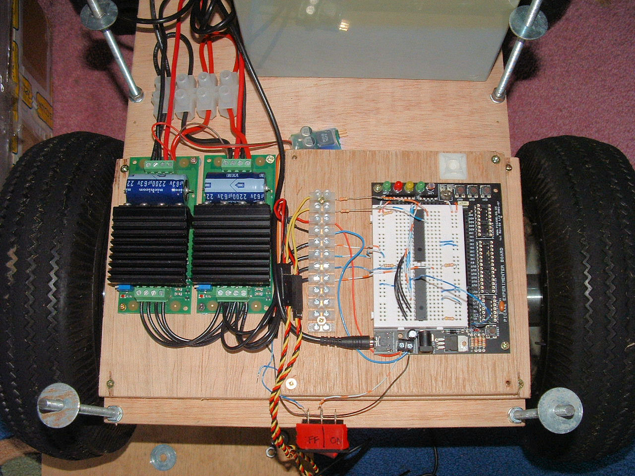 SPU diy wi fi network robot page 2 control software and electrical,Wiring A Robot