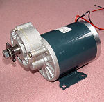 Geared DC PM Motor