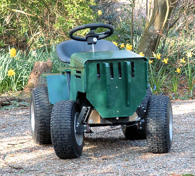 1300W DIY Electric Yard Tractor