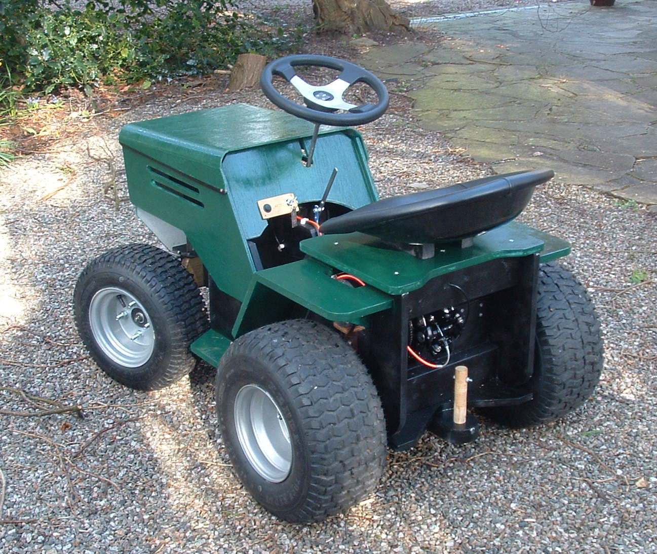 Small Homemade Tractors : Small garden tractor plans pdf