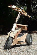 Single Motor Scooter Prototype