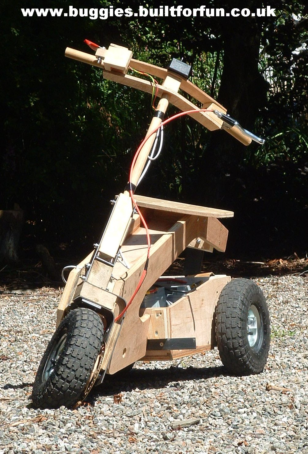 Plans For Diy Electric Tilting Scooter
