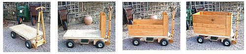 Home Built Electrically Powered Yard or Garden Wagon Plans