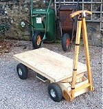 Home Build Powered Yard or Garden Wagon Plans