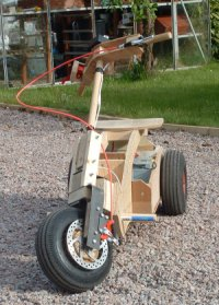 Single Motor Trike Prototype