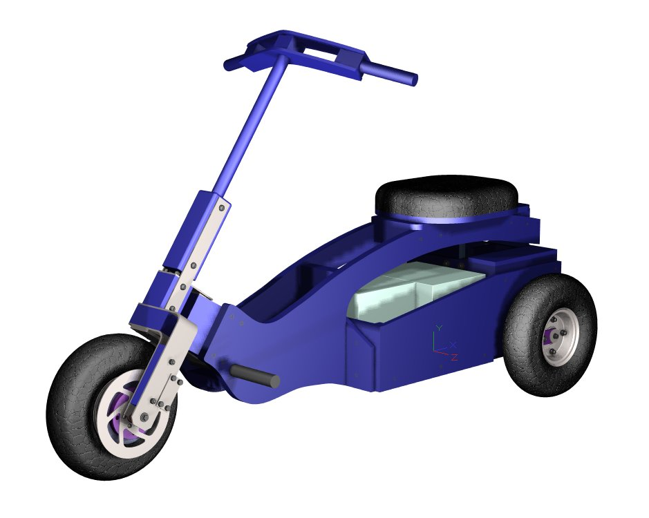 Plans for simple DIY electric mini trike