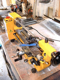 metal working lathe